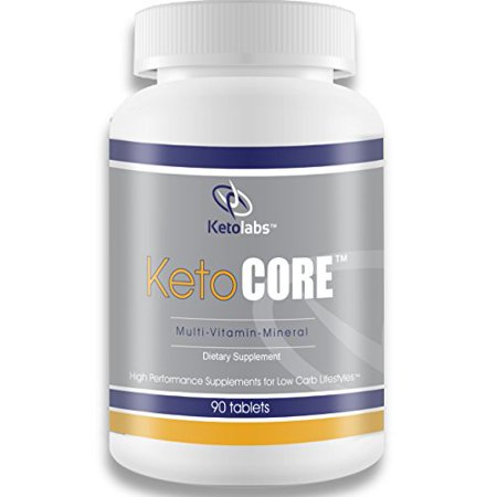 Ketolabs Keto Core Daily Multivitamin with Minerals and ...