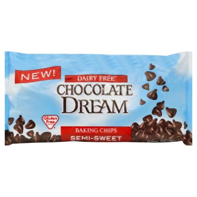 SunSpire Chocolate Dream Dairy Free Semi-Sweet Baking Chips, 10 Oz by Hain Celestial