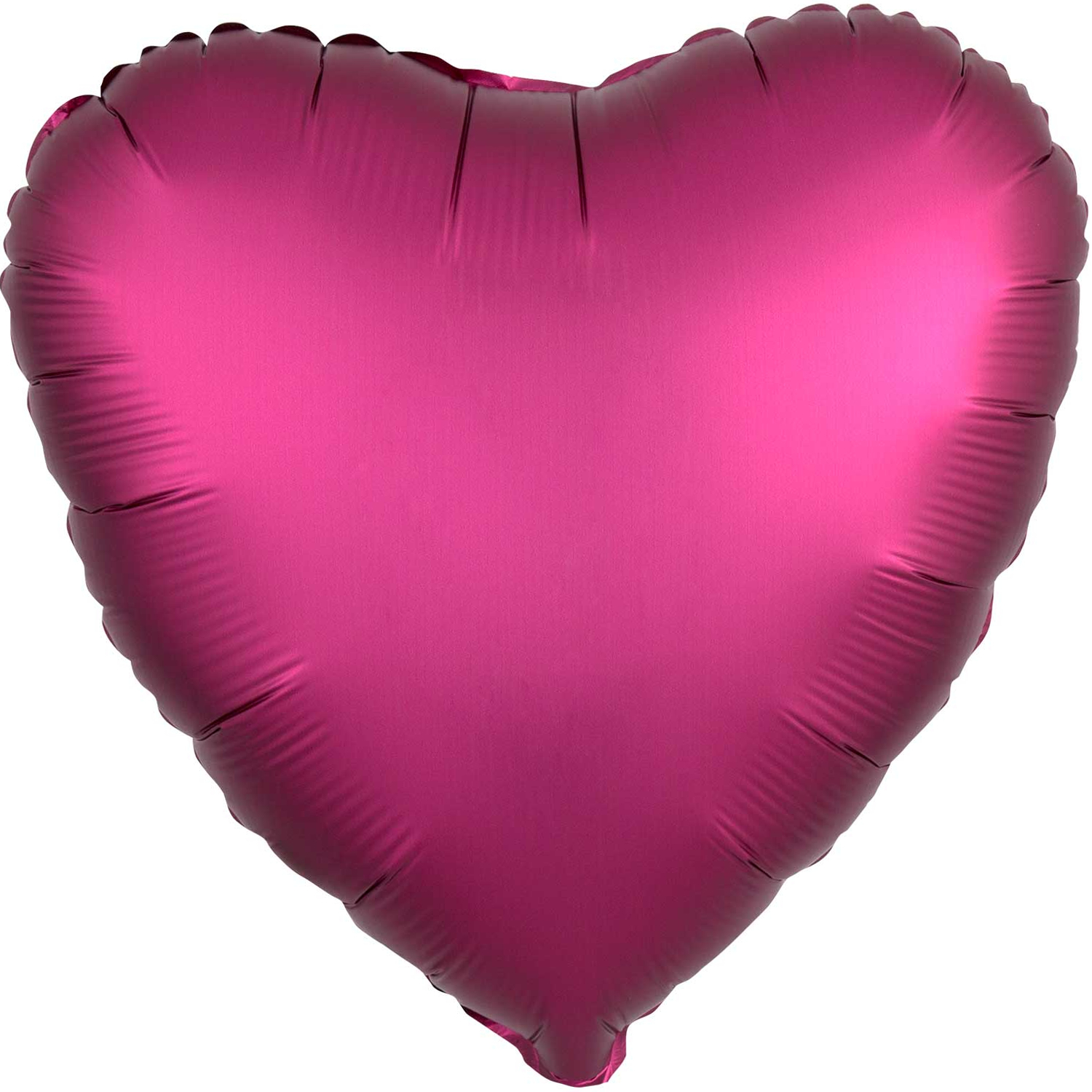 Anagram Heart-Shaped Foil Party Balloon, 19 inches