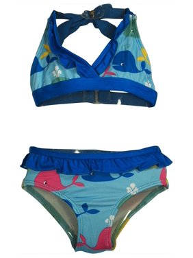 b41192f29d Product Image Pink Platinum - Baby Girls 2 Pc Swimsuit TURQUOISE WHALE / 24  Months