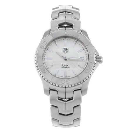 Certified Pre-owned TAG Heuer Link WJ1111. BA0570 Stainless Steel Quartz Men's Watch