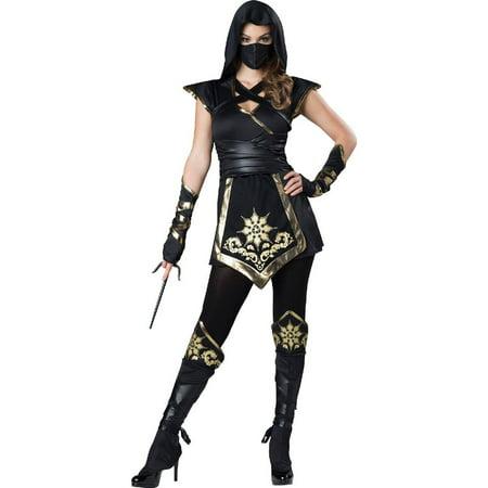 Elite Ninja Women's Adult Halloween Costume](Plus Size Ninja Costume)