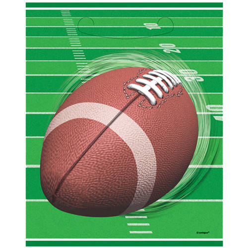 rugby Ball Game Paper Popcorn Bags football party decor sports party supplies baseball party treat boxes ball game popcorn bags 10ct