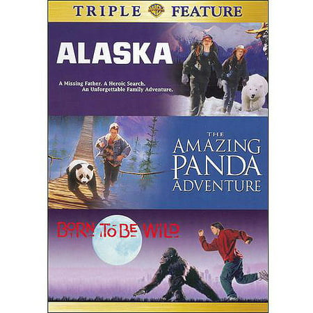 Born To Be Wild / Alaska / The Amazing Panda Adventure (Full Frame) (Wild Adventure Halloween 2017)