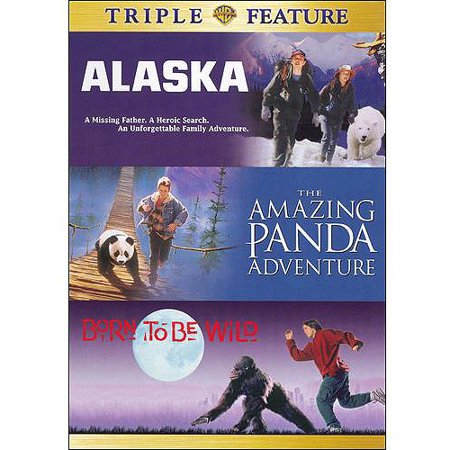 Born To Be Wild / Alaska / The Amazing Panda Adventure (Full Frame) (Wild Adventure Halloween 2017)