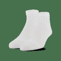 MediPeds Diabetic CoolMax Quarter Socks, Medium, 2 Pack