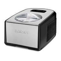 Cuisinart ICE-100 Compressor Ice Cream and Gelato Maker, Black Stainless