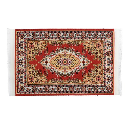 Timeless Minis Persian Rug Polyester 3.875 x 6.625 inches