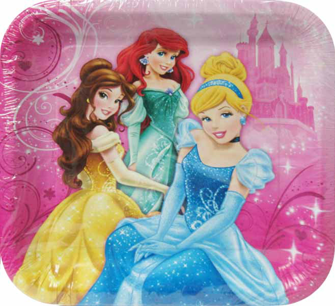 Disney Princess 'Sparkle and Shine' Large Paper Plates (8ct)