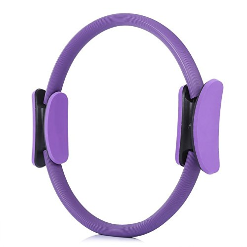 15 inch Pilates Ring Help Tone and Strengthen Your Entire core and Body Purple
