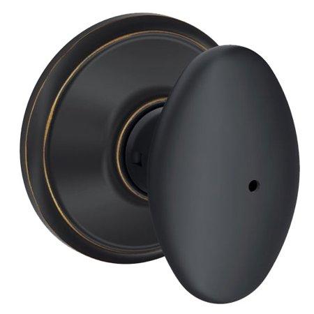 SCHLAGE F40 SIE 716 Knob Lockset,Mechanical,Privacy,Grd. 2