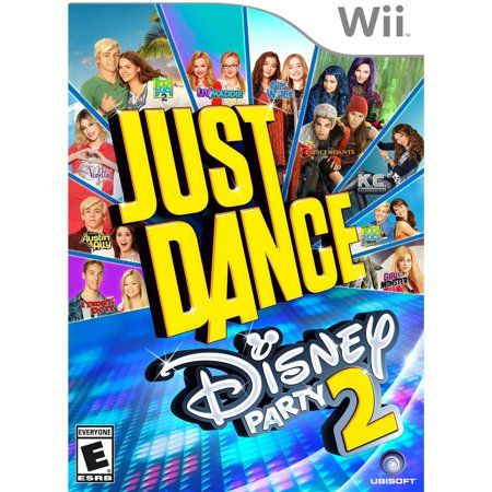 Just Dance: Disney Party 2, Ubisoft, Nintendo Wii, 887256014209