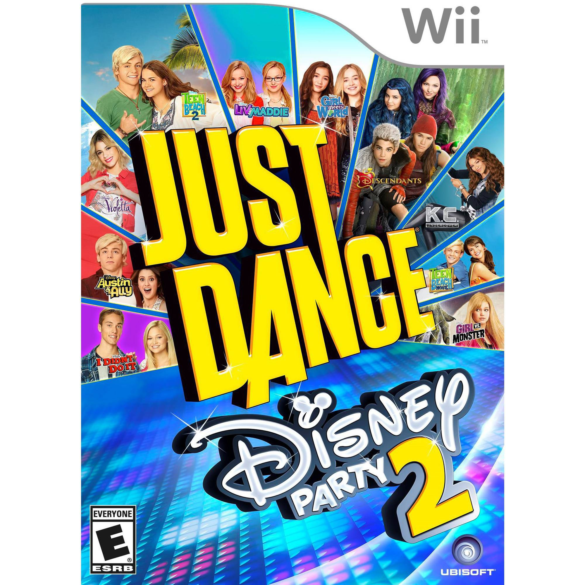 Just Dance: Disney Party 2, Ubisoft, Nintendo Wii, 887256014209