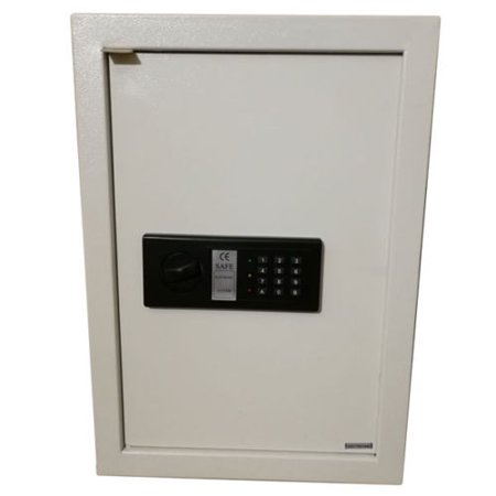 Zimtown Digital Flat Recessed Built In Wall Safe Home