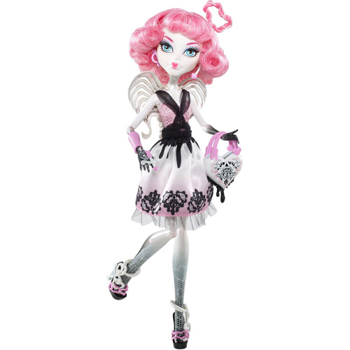 Monster High Cupid Romance Doll with Heart Purse by Mattel