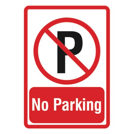 - No Parking Sign - Parking Lot Business Signs - Aluminum Metal