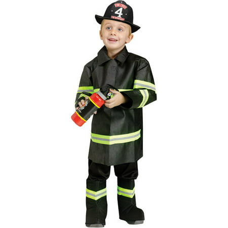 Fireman Toddler Halloween Costume - Toddler Fireman Halloween Costume