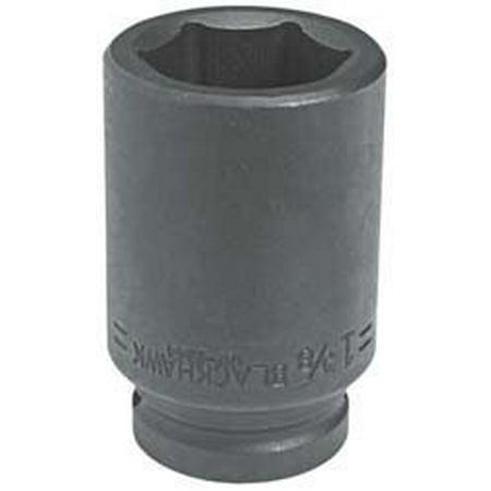 "3/4"" Drive Deep Well 7/8"" Impact Socket Usa Uw-2628, By BlackHawk"