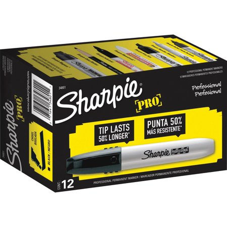 Sharpie, SAN34801DZ, Professional Chisel Tip Markers, 1 (Sharpie Professional Chisel Tip Markers)
