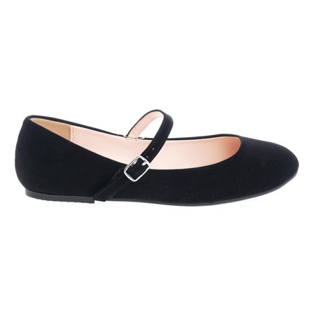 Hookup by City Classified, Mary-Jane Round Toe Ballet Ballerina Flats