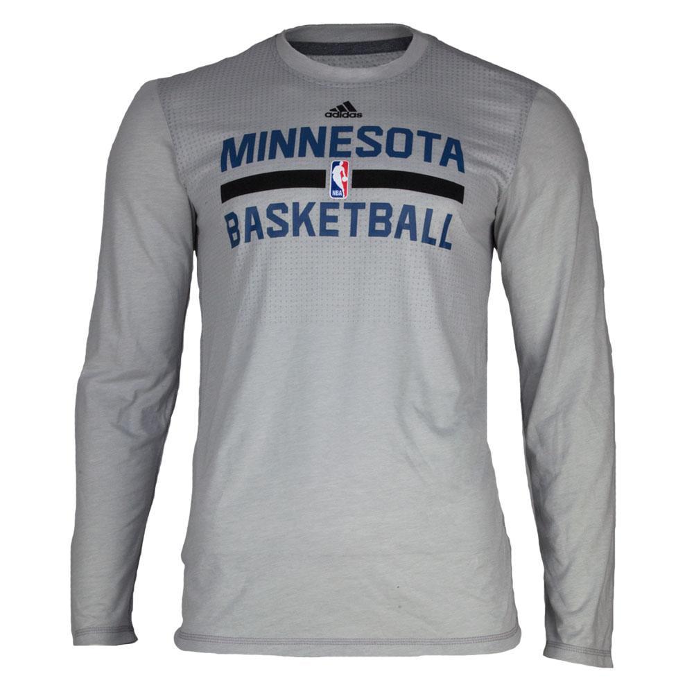 Minnesota Timberwolves - On Court Mens Long Sleeve Practice T Shirt