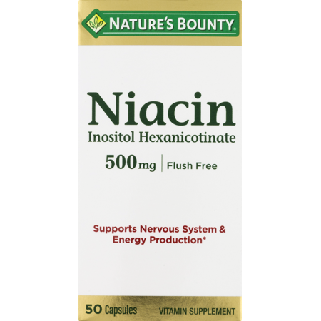 Pregnenolone 50 Mg Capsules - Nature's Bounty Flush Free Niacin Vitamin Supplement Capsules, 500 Mg, 50 Ct