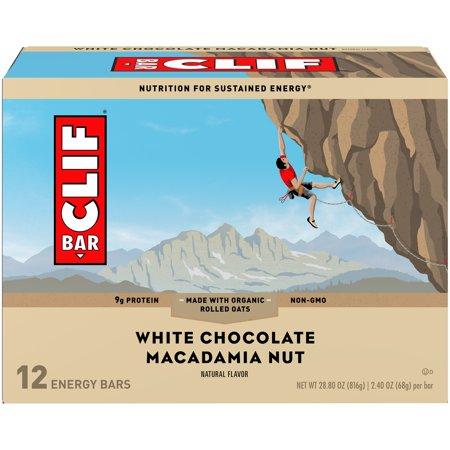 CLIF Bar® White Chocolate Macadamia Nut Energy Bars 12-2.4 oz.