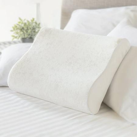 Mainstays Memory Foam Contour Pillow, Standard Size