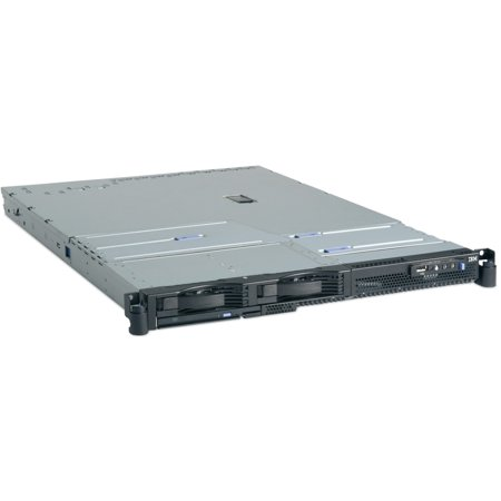 IBM eServer xSeries 336 Rack Server - 1 x Xeon - 512 MB RAM) HDD) SSD - Ultra320 SCSI Controller - 2 Processor Support - 16 GB RAM Support - 1, 1E RAID Levels - Gigabit Ethernet585 W