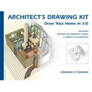 Design Works Inc. Architects Drawing Kit Learn to Draw With Perspective in 3D