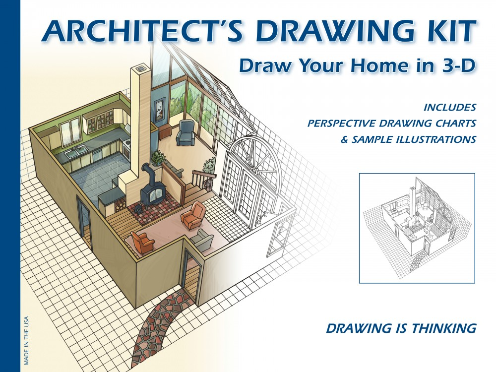 High Quality Design Works Inc. Architectu0027s Drawing Kit Learn To Draw With Perspective In  3D
