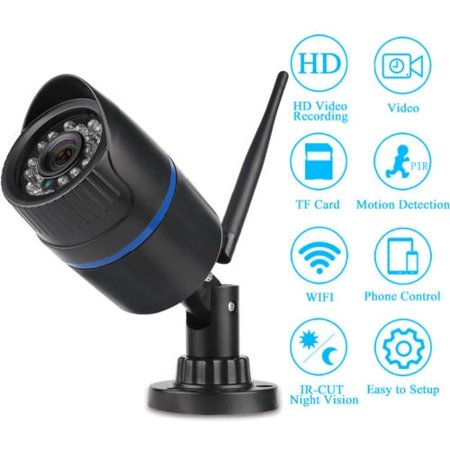 Wireless 1080P/720P HD WIFI IP Network Camera CCTV Outdoor Security IR Night New Play Wireless Network Camera