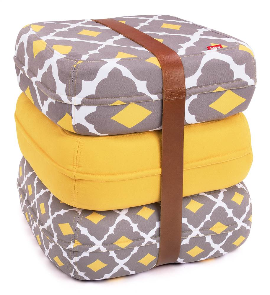 3-Pc Baboesjka Pillow in Yellow