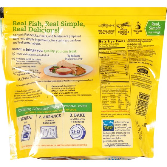 pollock fish nutrition facts