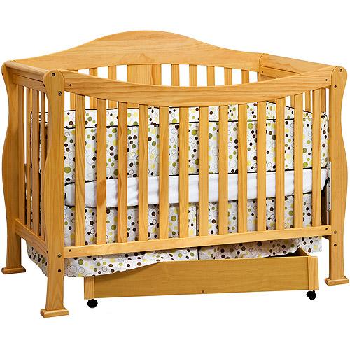 Baby Mod - Park 4-in-1 Convertible Crib, Oak