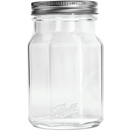 Ball Glass Sharing Jar, Wide Mouth, 32 Ounces, 4 Pack