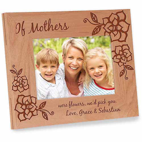 Personalized Photo Frame For Mom If Mothers Were Flowers Frame We