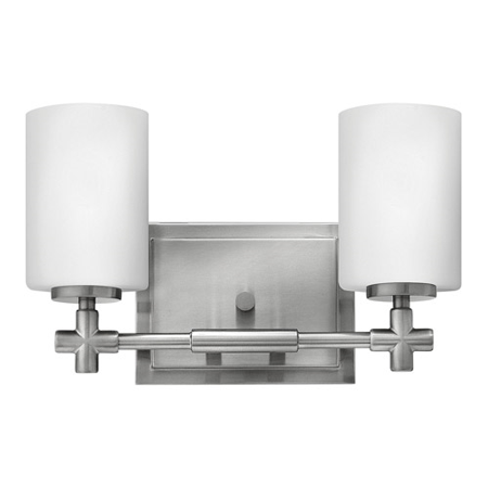 Rla Hinkley RL-130223 Bath Lighting Brushed Nickel Steel Lancaster