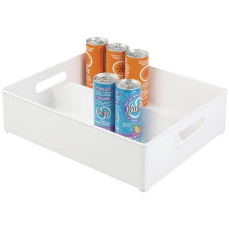 Interdesign Refrigerator And Freezer Storage Organizer Bin  12   X 4   X 14 5    White