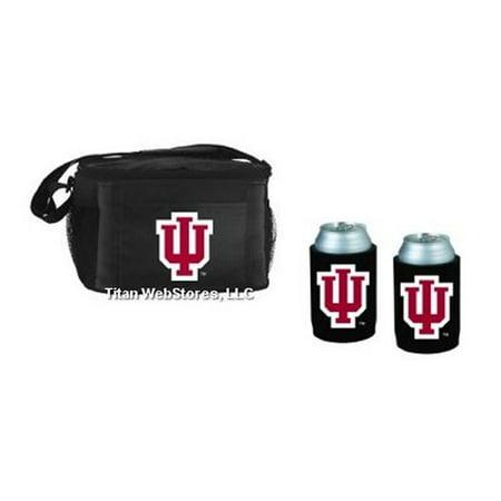 Indiana Hoosiers Beverage Cooler Gift Set