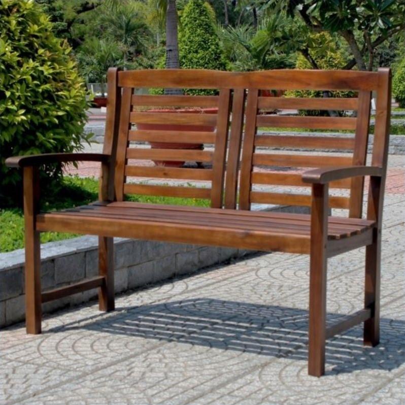 Pemberly Row 2-Seater Patio Garden Bench