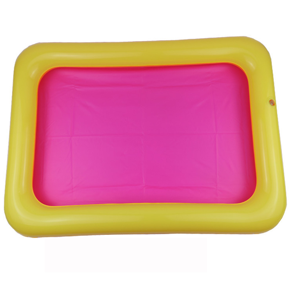 Iuhan Kids Indoor Inflatable Large Castle Sand Box Sandbox Slime Mud Pool Outdoor Toys