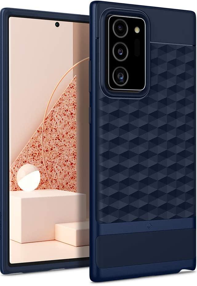 Galaxy Note 20 Ultra Case Caseology Parallax For Samsung Galaxy Note 20 Ultra 2020 Midnight Blue Walmart Com Walmart Com