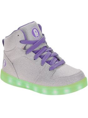 Girl's Rechargeable Color Changing Light Up LED Athletic Shoe