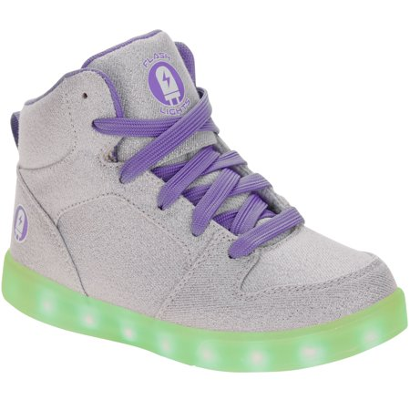 Girl's Rechargeable Color Changing Light Up LED Athletic Shoe](Shoe Led)