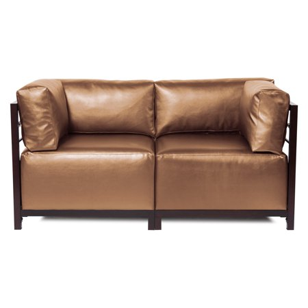 Elizabeth Austin Shimmer Bronze Axis 2 Piece Sectional Sofa