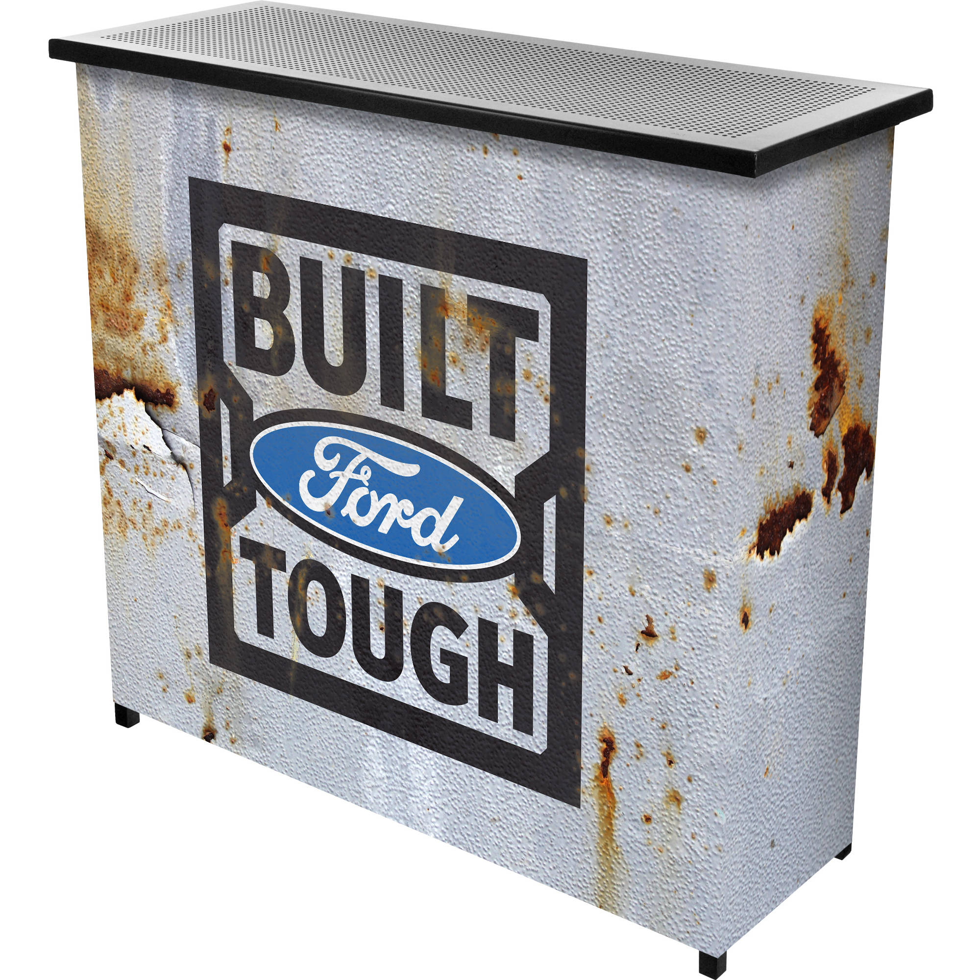 Ford Portable Bar With Case Built Ford Tough Walmart Com