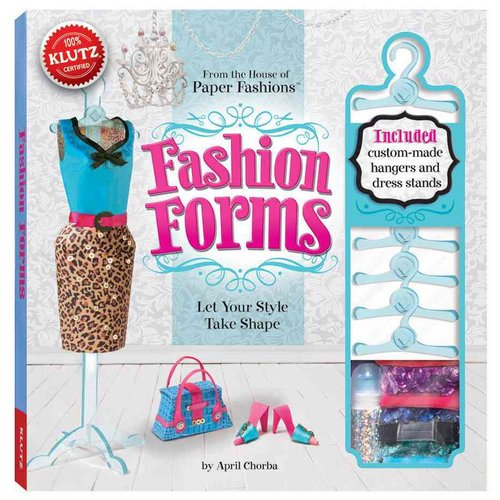 Fashion Forms [With 500 Sequins, 5 Hangers, 3 Dress Stands, Clear Cord and Stencils and 18 Plastic Pattern Pieces