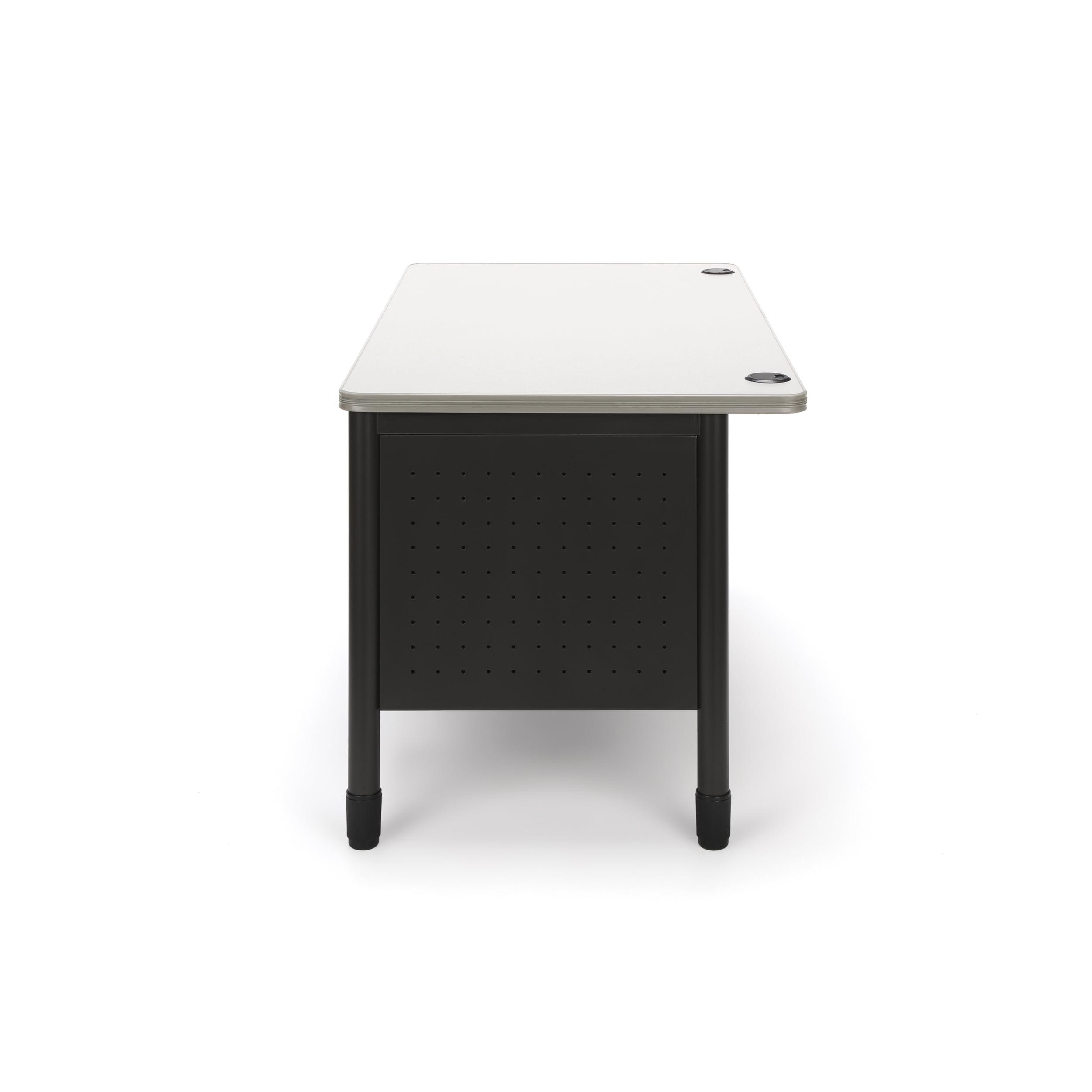 OFM 66360-OAK Mesa Double Pedestal Teachers Desk - Oak - Walmart.com