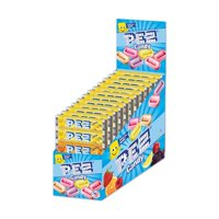 PEZ Candy 6-pack Assorted Fruit Candy Rolls, box of 12 packs